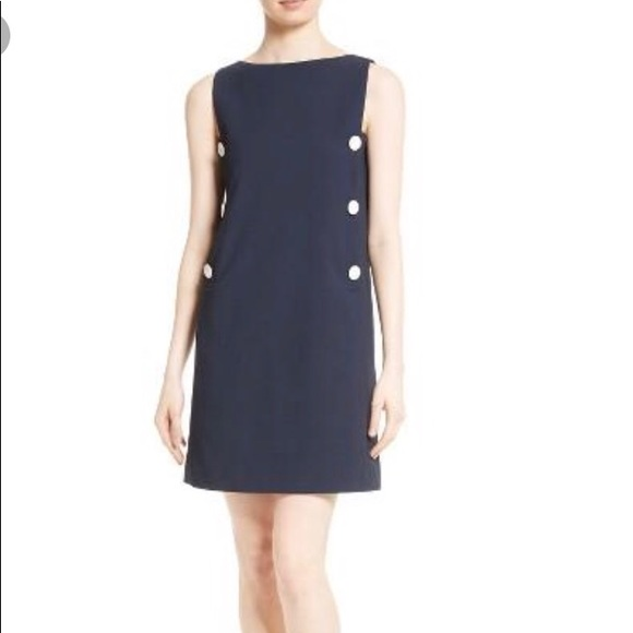c3bb923f Tory Burch Dresses | Carrie Navy Blue Shift Dress | Poshmark